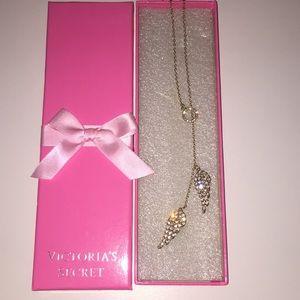 Victoria Secret Angel wing necklace